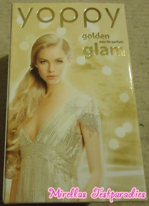 The perfume golden glam from yoppy.