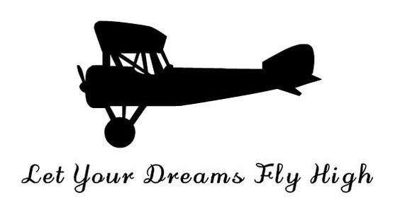 Decorating your childs room with airplanes? Have someone in your family taking flight lessons? These wall decals will look great on your