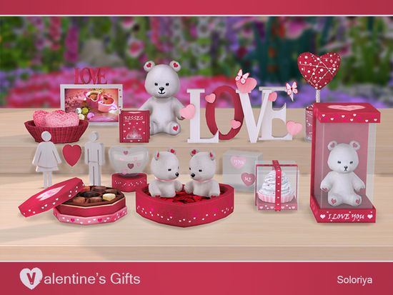 Soloriya S Valentine S Gifts Sims 4 Updates Sims 4 Finds Sims 4 Must Haves Free Sims 4 Downloads Valentine Gifts Sims Sims 4