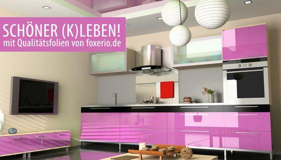 Klebefolie für Küche, Möbel und Deko - Oracal Folien