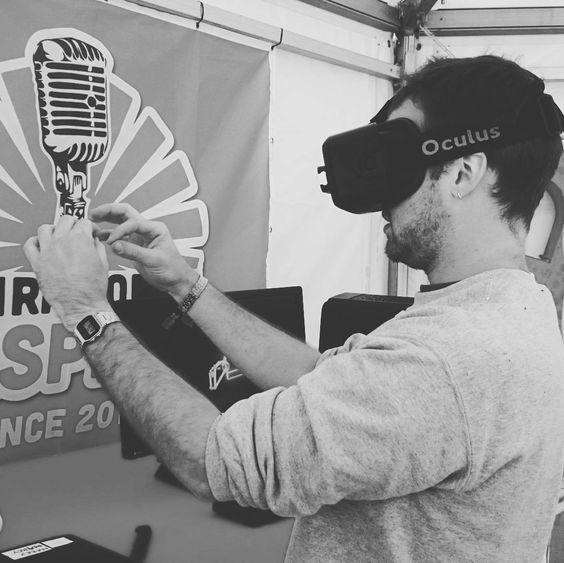 #workplay in de virtuele realiteit! #oculus op @quindo! #Sinxen16 #virtualreality by broosclaerhout - Shop VR at VirtualRealityDen.com