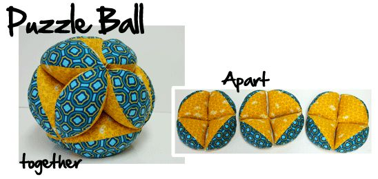how to make a puzzle ball