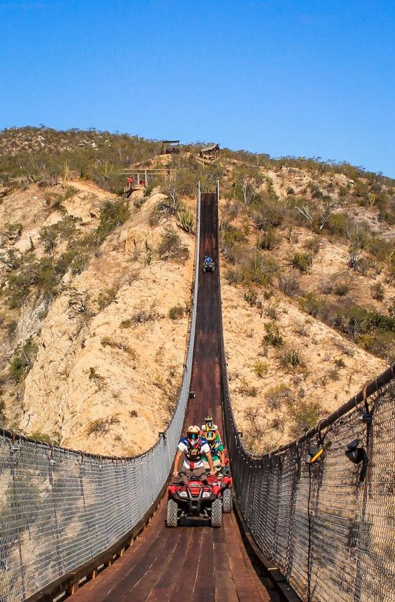 Los Cabos Canyon Bridge | Wild Canyon Adventures | The ...