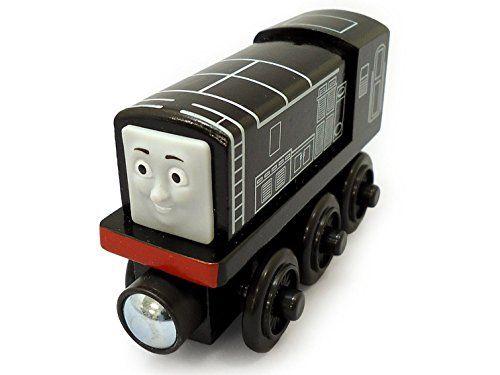Mattel Fisher-Price Y4079 - Thomas und seine Freunde Diesel, Holz Lokomotive, klein
