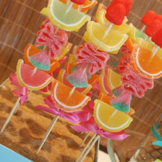 Candy Skewers - not that I'm eating sweets now but y'know... Just in case ;)