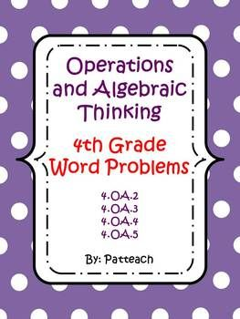 critical thinking word problems 4th grade Solving problems goes beyond mathematics presented as word or story problems  third and fourth grade students continue to solve problem  skemp (1993) identified the usefulness of relational thinking as critical to.