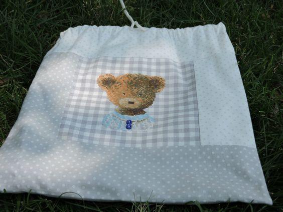 пушистые облака: комплект для новорожденного. DMC . Funny Bears Name