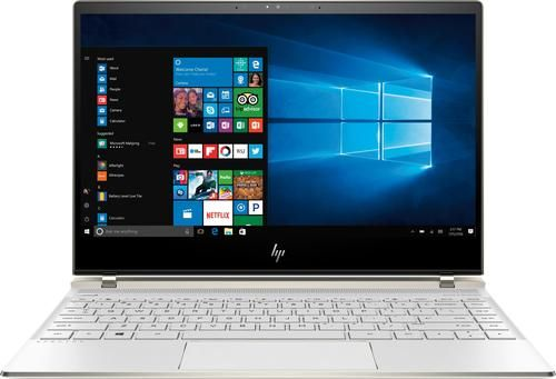Hp Spectre 13 13 3 Touch Screen Laptop Intel Core I7 8gb Memory 256gb Solid State Drive Hp Soft Matte Finish In Ceramic White La Touch Screen Laptop Hd Notebook Laptop Computers