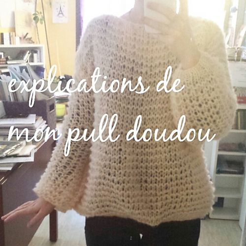 Ravelry: Pull Doudou pattern by Elfie Albaret