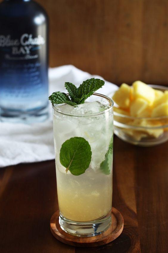 Pineapple-Coconut Mojito | Set the Table