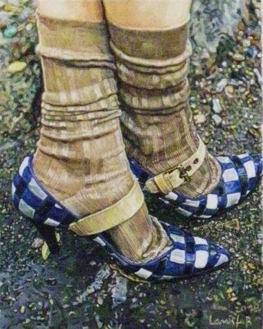 heels and socks