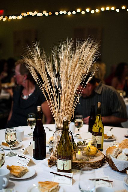 Cape breton wheat centerpieces and capes on pinterest for Wheat centerpieces