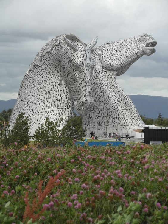 The Kelpies revisited by Ilona Bryan