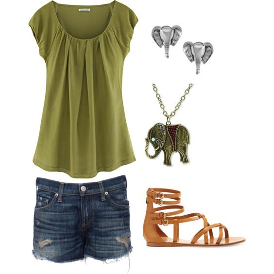 """Summer Fun"" by nessagb on Polyvore"