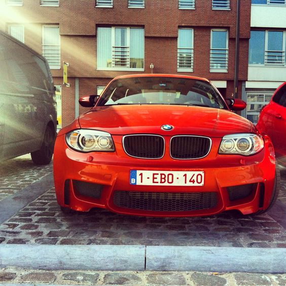 It's the pocket rocket everybody likes. #BMW #1M.