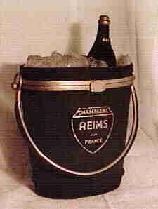 Champagne bucket purse, Anne Marie of Paris, 1940s