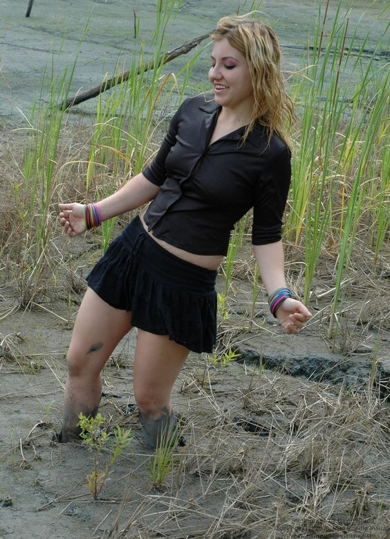 Hot girls in quicksand