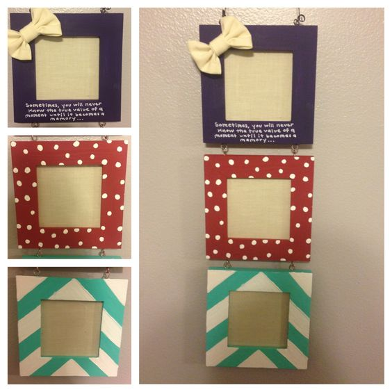 Diy Picture Frame Part - 19:  Diy Picture Frame Ideas