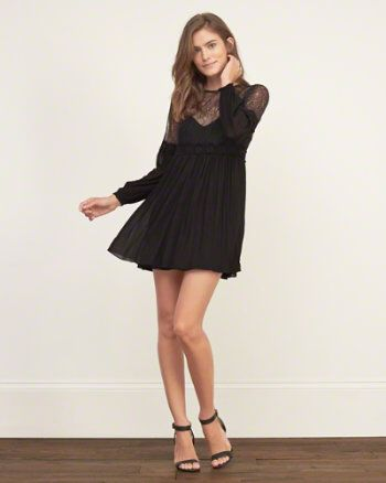 Lace Swing Dress from Abercrombie and Fitch $68,00
