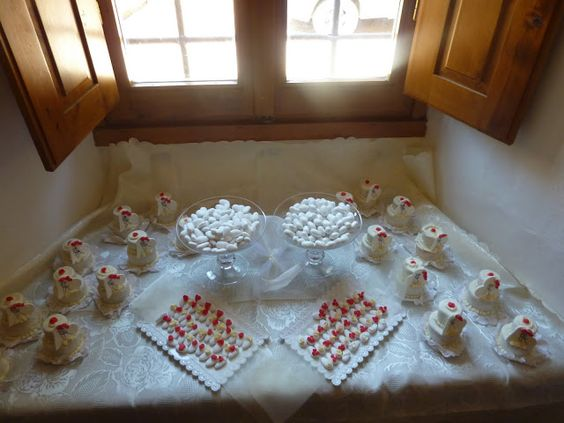 Torte decorate per ogni occasione..compleanni.. battesimi .. comunioni..matrimoni..: mini torte Torte Nuziali