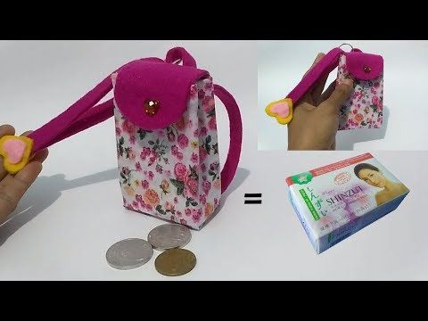 Ide Kreatif Dari Box Bekas Sabun Mandi Cara Membuat Dompet Koin