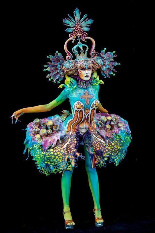 Cute World Body Painting Festival In Klagenfurt Austria The Most Beautiful Pictures Body Painting Festival World Bodypainting Festival Body Art Painting