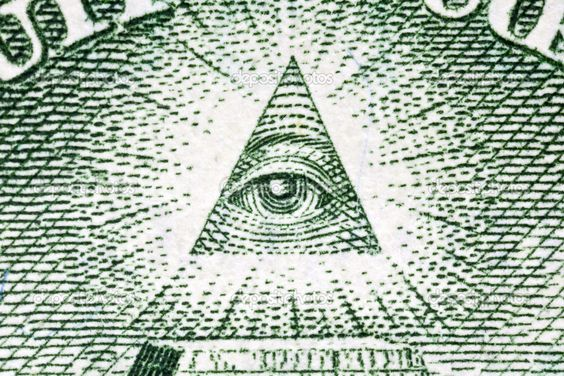 Eye of Providence Macro on the US-One-Dollar-Bill