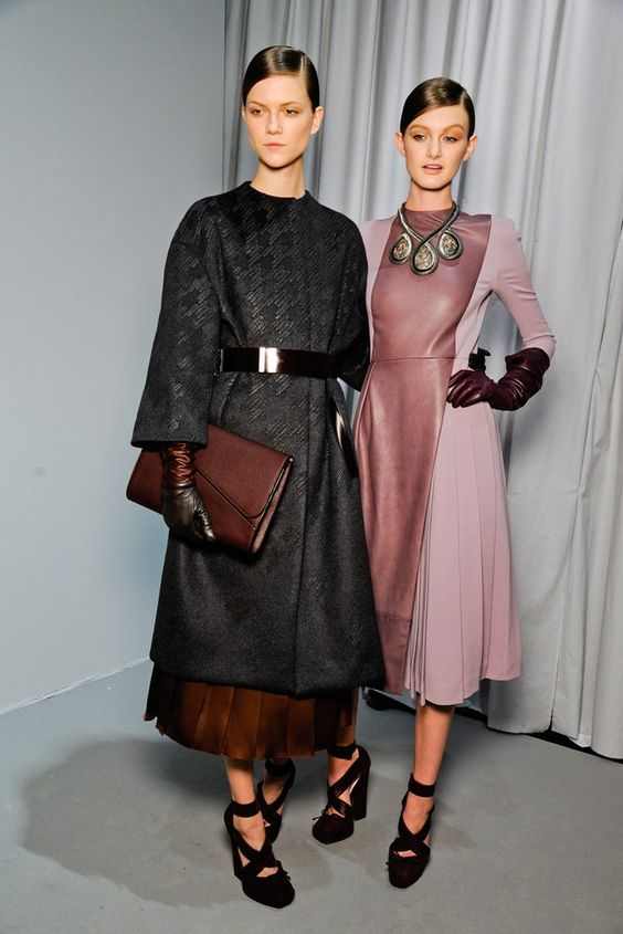 Christian Dior Fall 2012 Ready-to-Wear Fashion Show Beauty