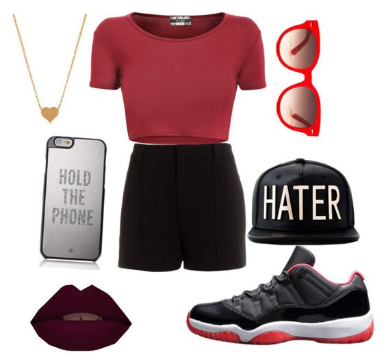 """""""HATERS GONNA HATE """" by dwheeler ❤ liked on Polyvore featuring мода, Aryn K., Equipment, Minnie Grace и Kate Spade"""