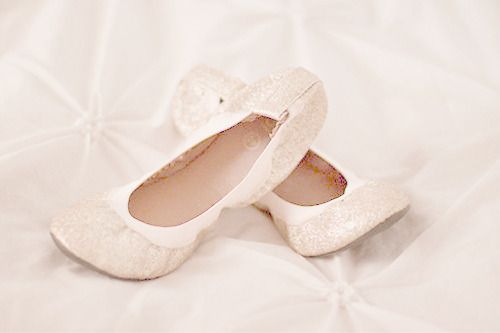 ballet flats for the reception.. to dance in. :) or flip flops:)