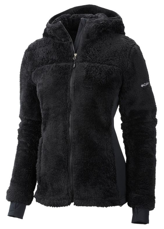 Columbia Women&39s Polar Yeti Plush Fleece Jacket (Black) | Women&39s
