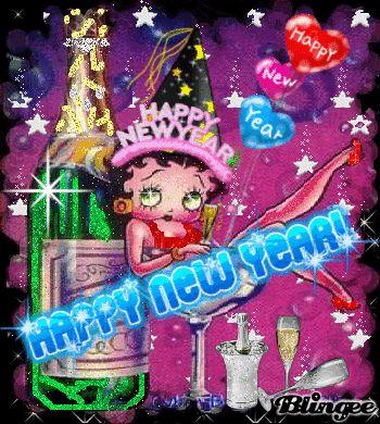 betty boop new years