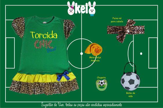 Veja a coleção completa com tamanhos, cores, medidas e preços em nossa Loja Virtual: www.kelbaby.com.br