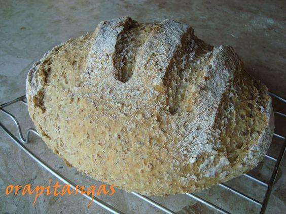 ora, pitangas!!!: pão de rustico de trigo hidratado #131