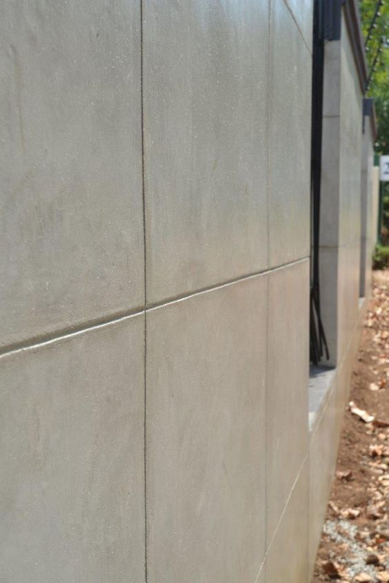 Cemcrete cement wall finish cemcrete exterior walls How to finish a concrete wall