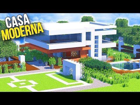 Minecraft Tutorial Como Construir Uma Super Casa Moderna Com