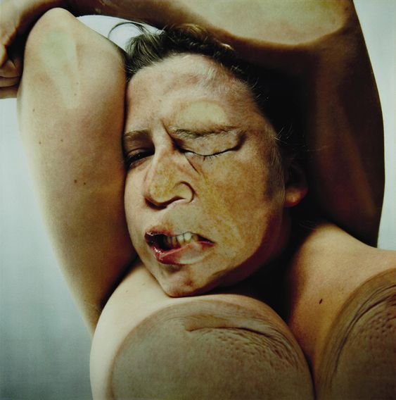 Closed Contact by jenny saville & glen luchford