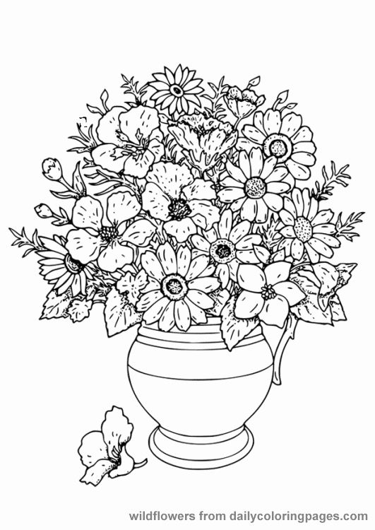 Advanced Online Coloring Pages Unique Advanced Flower Coloring Pages Flower Colori Printable Flower Coloring Pages Flower Coloring Pages Flower Coloring Sheets
