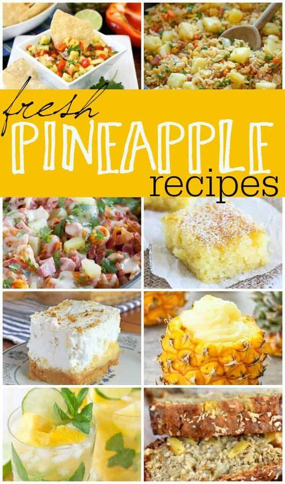 Fresh Pineapple Recipes