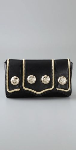 love this nautical inspired clutch