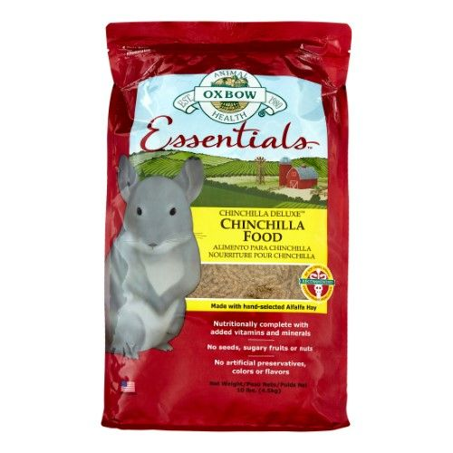 Oxbow Pet Products Essentials Chinchilla Dry Small Animal Food 10 Lb Chinchilla Food Pets Chinchilla