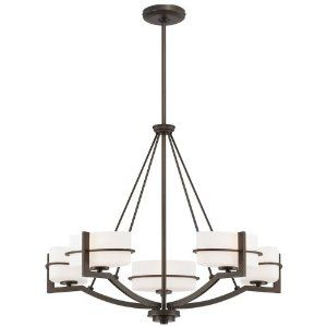 Minka-Lavery 5-Light Chandelier - 27W in. Smoked Iron