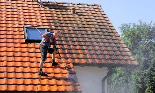 نماشویی انواع مختلف سطوح Roof Cleaning Roof Restoration Roof Architecture