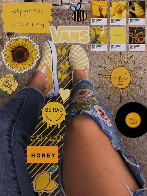 Yellow Checkered Vans Vans Yellow Vans With Images Yellow Vans Cute Vans Yellow Aesthetic