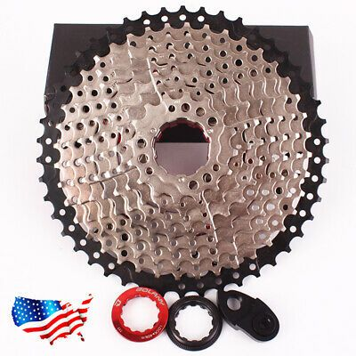 Cycling 8//9//10//11 Speed Freewheel Road Bicycle 11-28T Bike Flywheel Cassette New