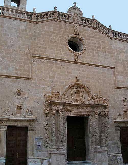 Iglesia Roser Menorca Menorca Barroco Iglesia