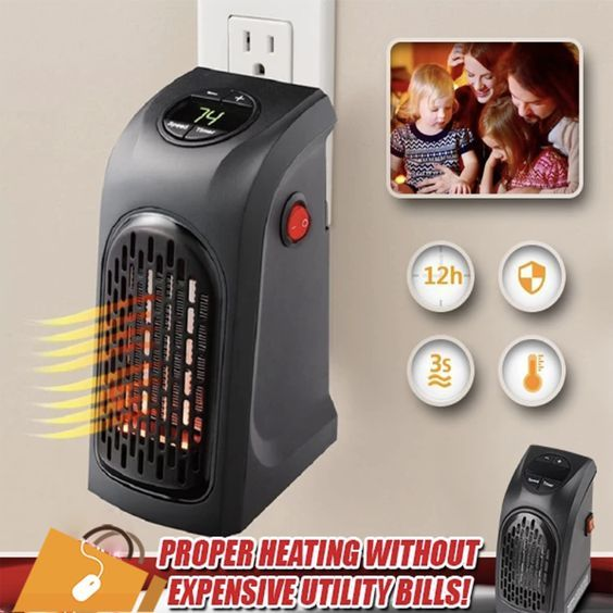 Mini Portable Electric Heater In 2020 With Images Portable Electric Heaters Portable House Electric Heater