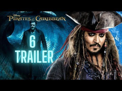 Pirates Of The Caribbean 6 Trailer The Last Captain Fm Youtube Pirates Of The Caribbean Caribbean Pirates