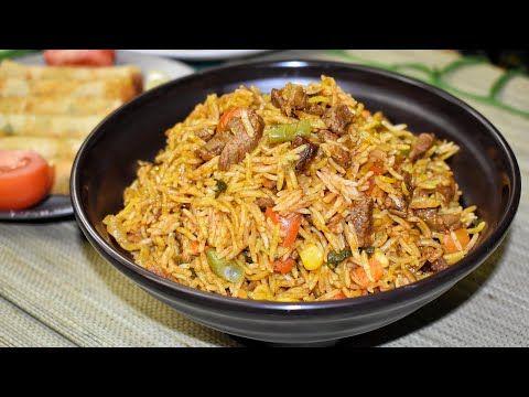 مطبخ الذوق الرفيع طريقة عمل ارز برياني باللحم Biryani Recipe Cooking Recipes Beef Biryani