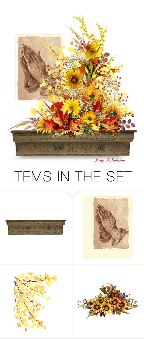 """Thanks-Giving"" by judymjohnson ❤ liked on Polyvore featuring art"